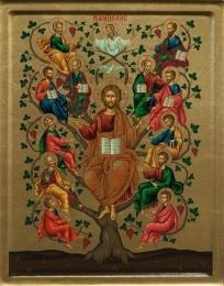 Kristus Vinträdet (Ampelos)