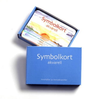 Symbolkort akvarell (52 kort/akvareller)