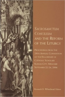 Sacrosanctum Concilium and the Reform of the liturgy