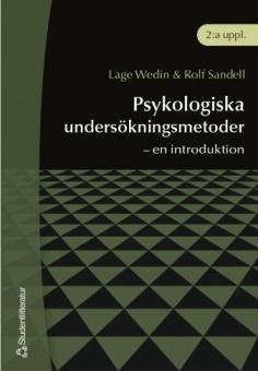 Psykologiska undersökningsmetoder - en introduktion, 2.uppl.