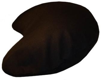Mini, njurformad, svart 44x27x8cm
