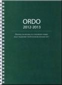 Ordo 2012-2013: Ordningen för mässans och tidegärdens firande enligt kalendariet för Stockholms katolska stift