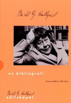Britt G. Hallqvist - en bibliografi