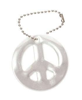 Peace-märket, vitt