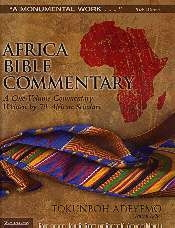 Africa Bible Commentary - 2nd edition - A One-Volume Commentary Written by 70 African Scholars