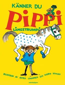 Känner du Pippi Långstrump? - Illustratör: Vang Nyman, Ingrid