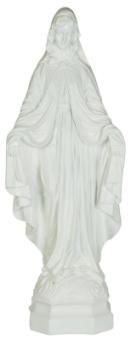 Maria, vit 64 cm, kompositmaterial