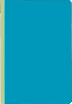 Anteckningsbok, punktad A5, blå