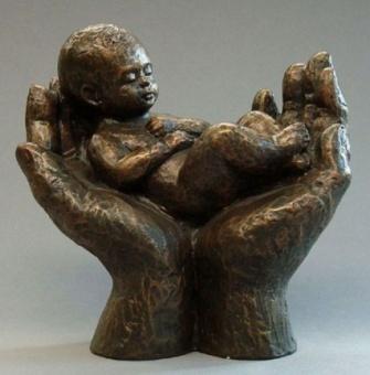 Precious, brons h. 12 cm