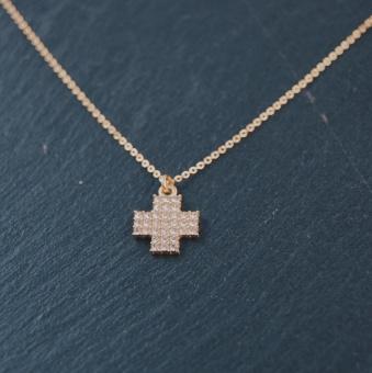 i14 Hoppets färg är blå - kors
