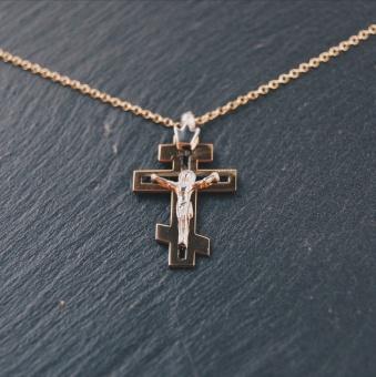 i45 Ortodoxt krucifix