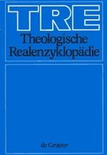 Theologische Realencyklopädie (TRE) Gesamtregister, Band I Bibelstellen, Orte, Sachen
