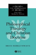 Philosophical Theology and Christian Doctrine