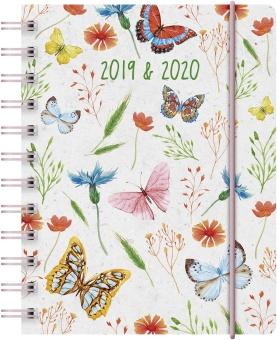 A5 Butterfly – 18 månaders elevkalender 2019/2020