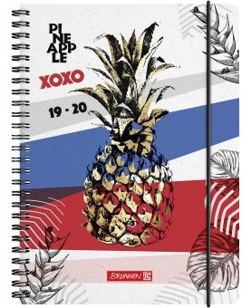 A5 Pineapple – 18 månaders elevkalender 2019/2020