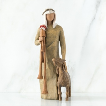 Zampognaro (Shepherd with bagpipe)