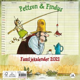 Familjekalender Pettson & Findus - 2021