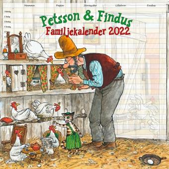 Familjekalender Pettson & Findus - 2022