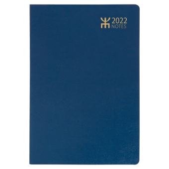 Notes, blå plast - 2022