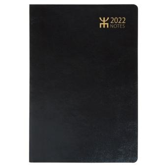 Notes, svart konstskinn - 2022