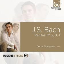 Partitas No. 2,3,4 m. Cédric Tiberghien, piano
