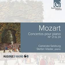 Concertos pour piano No. 21 + 24 m. Camerata Salzburg + Stefan Vladar, piano