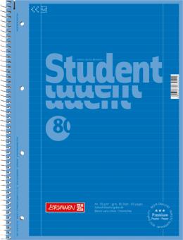 Student, A4, linjerad - flera färger