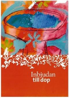 Inbjudan till dop : Mannberg, 10-pack