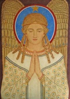 Bedjande ängel