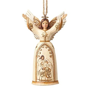 Ivory & Gold Nativity Angel