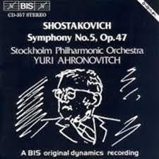 Symphony no 5, op 47