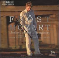 Clarinet concerto+ quintet