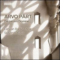 Da pacem Domine - Latvian Radio Choir, Sigvards Klava