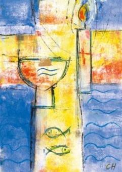 Döpt i vatten och Ande