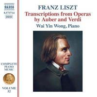 Complete Piano Music, Vol. 52: Transcriptions from Operas by Auber & Verdi
