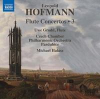 Hofmann, Leopold - Flute Concertos, Vol. 3