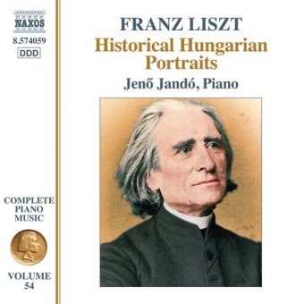 Complete Piano Music Vol. 54 - Historical Hungarian Portraits