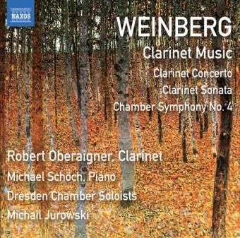 Clarinet  Concerto / Clarinet Sonata / Chamber Symphony no. 4