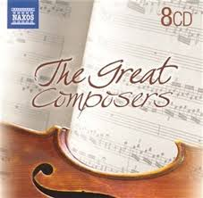 Great Composers: Bach, Handel, Beethoven, Mozart, Chopin, Puccini, Grieg, Tchaikosvky