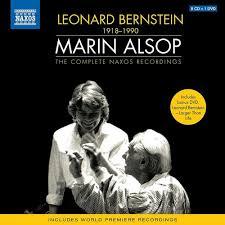 Bernstein + Alsop - Complete Naxos Recordings (8 CD + DVD) - Marin Alsop