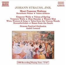 Most famous Waltzes
