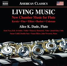 New Chamber Music for Flute  - Alice K. Dade