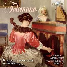 6 Violin Sonatas, Frankfurt 1715 - Valerio Losito, Federico del Sordo