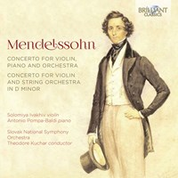 Concerto for Violin and String Orchestra in D Minor, Concerto for Violin, Piano and Orchestra