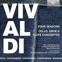 Four Seasons, Cello, Oboe + Flute Concertos (5 CD)