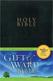 New International Version, NIV, Gift and Award Bible, Svart