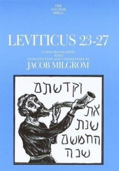 Leviticus 23-27 (The Anchor Bible)