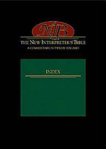 New Interpreter's Bible Index