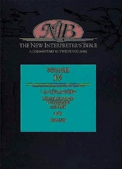 New Interpreter's Bible Vol. IV