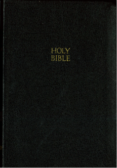 Bible, NKJV svart skinn, ultra slim